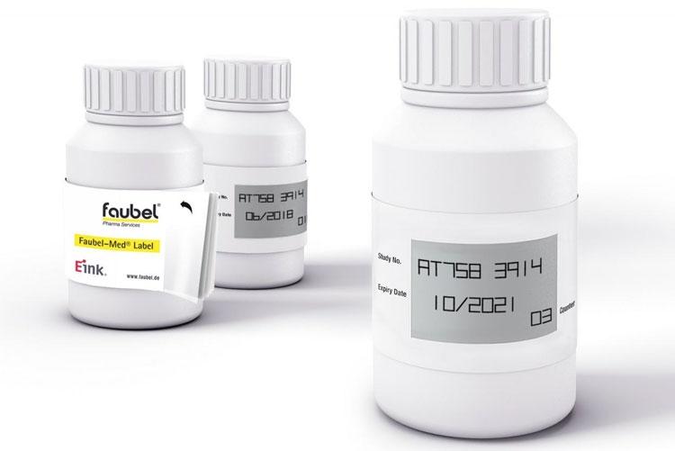 Работу с новыми медпрепаратами упростят этикетки Faubel с экранами E Ink»