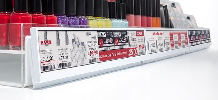 Japan Display и E Ink представили 30-см дисплей для электронных ценников»