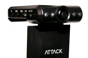 Видеорегистратор ATTACK C1033 с 2,5-дюймовым дисплеем