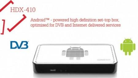 EchoStar представила ТВ-приставку HDX-410 на базе Android 4.0