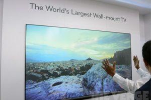 #CES | 100-дюймовый LG Laser TV за $10 000
