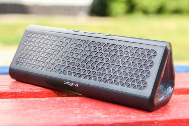 Портативная беспроводная колонка Creative Airwave HD с поддержкой NFC — обзор