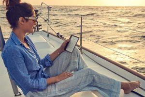 Ридер Amazon Kindle Oasis имеет влагозащищённое исполнение»
