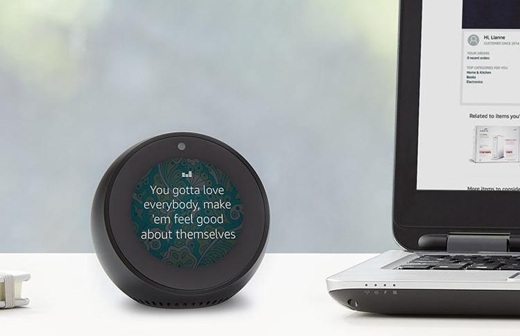 Amazon Echo Spot: смарт-будильник с голосовым ассистентом Alexa»
