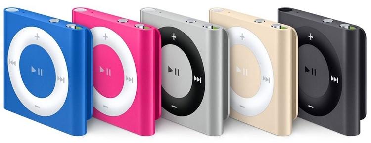 Плееры Apple iPod nano и iPod shuffle стали частью истории»