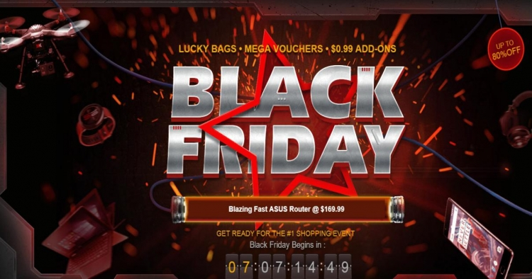 В «Чёрную пятницу» в интернет-магазине Gearbest предоставят максимальные скидки»