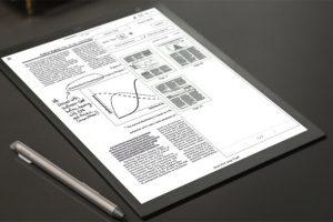 Sony проектирует новое устройство с экраном E Ink»