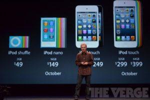 Apple обновила линейку плееров iPod и укомплектовала их наушниками EarPod